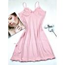 Розовая женская ночнушка