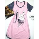 Женская домашняя туника Розовый котик