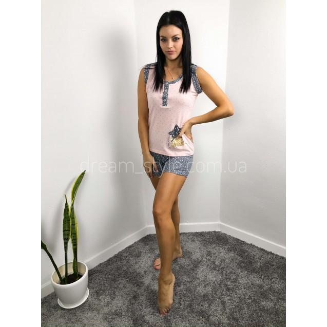 Пижама женская на пуговках