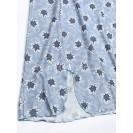 Голубая женская ночная рубашка
