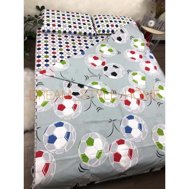 Детскок полуторное постельное белье Футбол