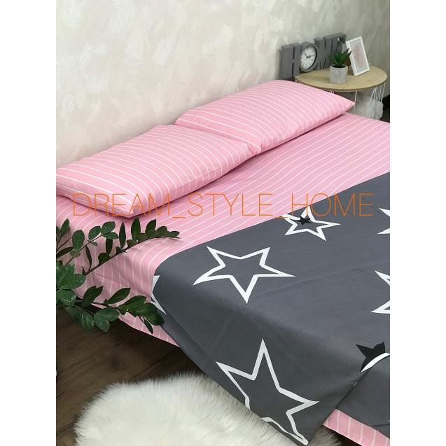 Комплект постельного белья Star в евро размере