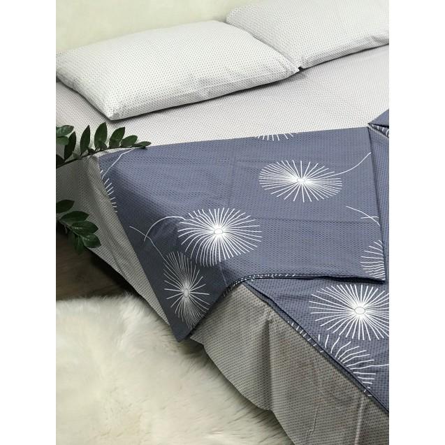 Комплект постельного белья евро размер Одуванчики