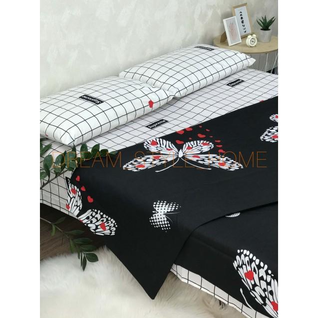 Двуспальное постельное белье Вutterfly