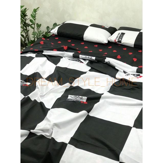Полуторное постельное белье I LOVE HOME
