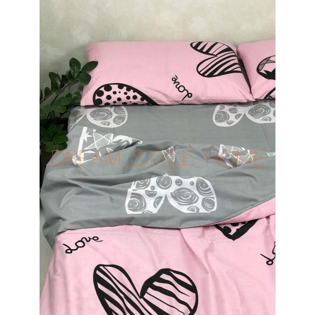 Полуторное постельное белье Love