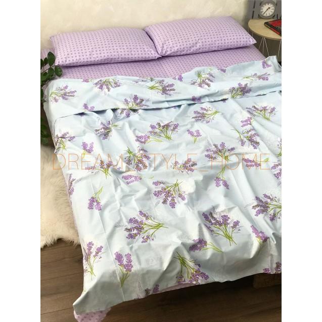 Двуспальное постельное белье Лаванда
