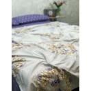 Двуспальное постельное белье из сатина Мандала
