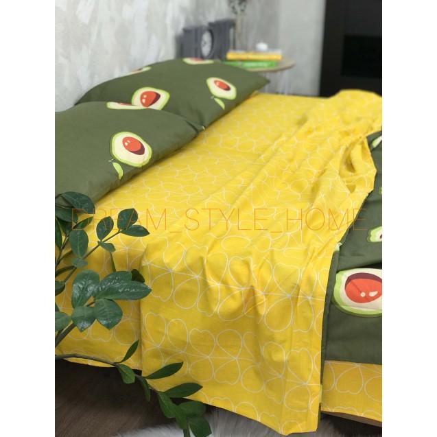Полуторное постельное белье Авокадо