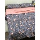 Полуторное постельное белье Весенние цветы