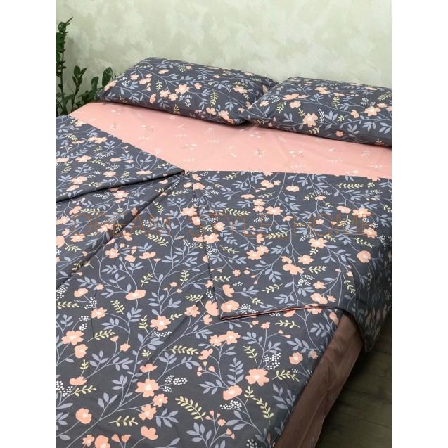 Семейный комплект постельного Весенние цветы
