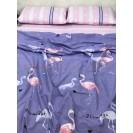 Полуторная комплект постельного белья Flamingo